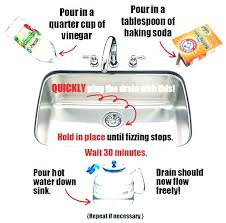 easy way to unclog a kitchen sink how to unclog kitchen sink unclog kitchen sink disposal standing