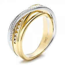 wedding ring designs for custom women s pearl and diamond wedding band 100011