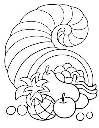 coloring pages thanksgiving for preschoolers preschool best of