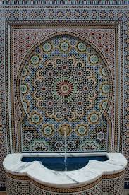 mosaic tile designs zillij moroccan mosaic tile designs 11th century fountain and