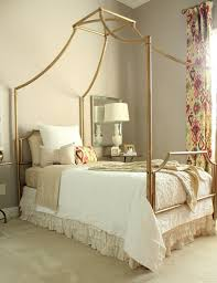 diy ideas for getting the look of a canopy bedwithout buying a