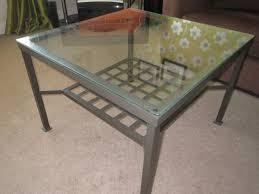 gold side table ikea glass coffee table ikea aripan home design