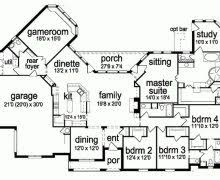 four bedroom house plans one story 4 bedroom house plans one story bonus room decohome