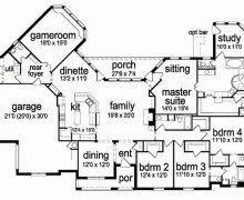 4 bedroom house plans one story bonus room decohome