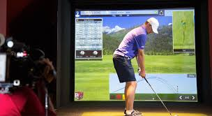 Home Golf Simulator by Golf Reality Virtual Is Here To Stay Triangle Golf