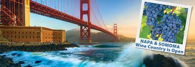 Map From San Francisco To Napa Valley by Bay City Guide San Francisco Visitors Guide Tours Maps Events