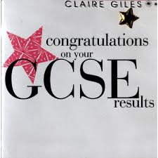 congratulations gcse results card gcse s education
