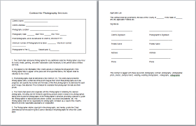 9 best images of client service agreement template free service