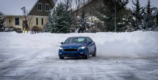 lexus awd in snow driven brrrraving the c c c cold in the 2017 awd ford fusion