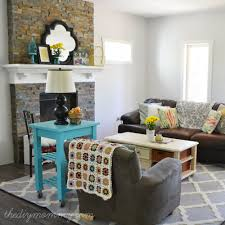 rustic glam living room decorating clear