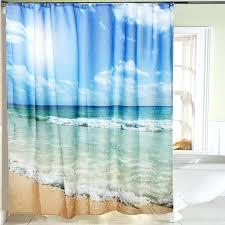 shower curtains beach scene full size of beach scene shower