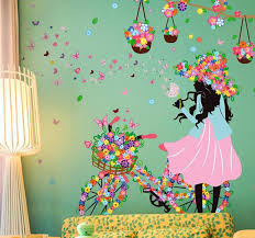 butterfly flowers butterfly flowers wall stickers