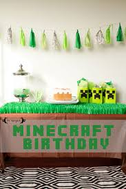 minecraft birthday party minecraft birthday party five marigolds