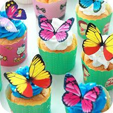 butterfly cake toppers butterfly cake toppers edible butterflies large rainbow