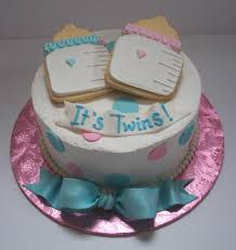 cute cake for baby shower ideas for twins baby shower ideas gallery