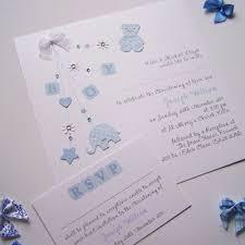 handmade invitations handmade personalised christening baby shower birth
