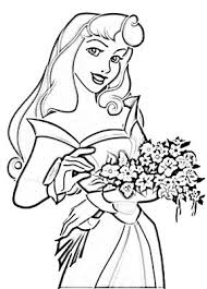 princess aurora disney princess coloring pages