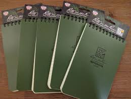 weather writing paper 5 pack rite in the rain 946 all weather universal notebook green 5 pack rite in the rain 946 all weather universal notebook green 4 x 6