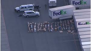 bureau fedex package sent from and to blows up schertz fedex facility kxan
