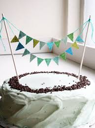 cake banner topper diy glitter cake bunting the sweetest occasion