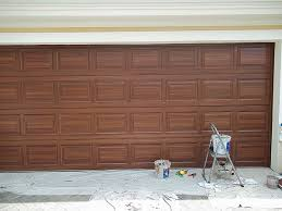 Garage Doors Used by Painting A Garage Door In Odessa Fl Everything I Create Paint
