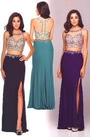 evening dresses prom dresses u003cbr u003e595 u003cbr u003etwo piece crop top dress