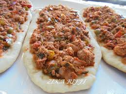cuisine turque en lahmacun pizza turque cuisine turque cuisine de zika