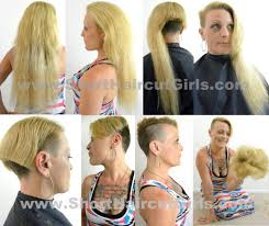 very short pixie hairstyle with saved sides short haircut girls