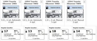 toyota 4runner v8 mpg 1991 toyota 4runner sr5 4x4 rental insurance mpg towing
