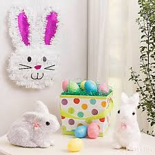 easter rabbits decorations easter party ideas easter decoration ideas party city