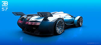 concept bugatti insane bugatti type 57 gt concept car rear side view sssupersports