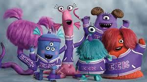 pixar created background creatures monster university