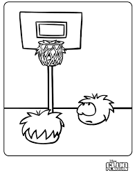 coloring pages of club penguin coloring pages