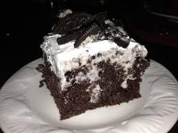 dessertation oreo pudding poke cake