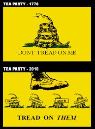 Tea Party Meme - tea party gadsden flag don t tread on me know your meme