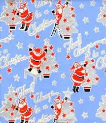 deco wrapping paper vtg christmas wrapping paper gift wrap snowman couples