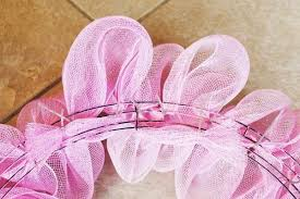 how to make a mesh wreath how to make a mesh wreath deco mesh wreath tutorial with pictures