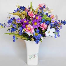 artificial flower decoration for home artificial flower arrangement assorted cosmos dogwood u0026