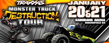 traxxas monster truck destruction tour rabobank arena