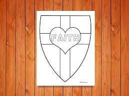shield of faith u0027 printables u2022 ministryark