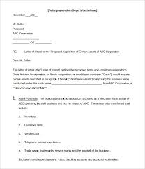 letter of intent formats related for 5 how to format a letter of