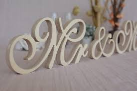 mr mrs sign for wedding table new font wooden letters mr mrs set wedding table decor mr