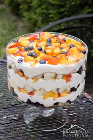 peach blueberry trifle recipe