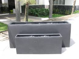 home decor design rectangular planter planter designs ideas in