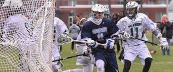 Cape Cod In April - monomoy sharks come up short against dolphins in lacrosse action