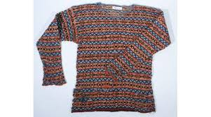 a history of the world object fair isle patterned jumper