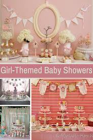 girl themes for baby shower adorable girl baby shower ideas design dazzle