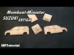 membuat miniatur mobil dari kardus cara membuat miniatur mobil suzuki ertiga dari kardus ide kreatif