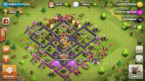 layout coc town hall level 7 top 10 clash of clans town hall level 7 defense base design