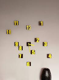 Scandinavian Wall Clock Best 25 Yellow Clocks Ideas On Pinterest Scandinavian Wall